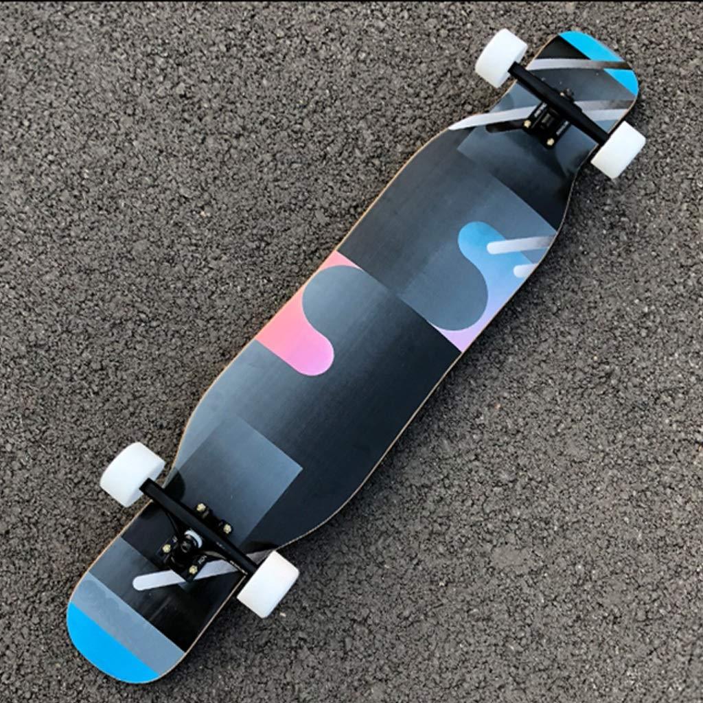 WEI KANG Skateboard Skateboard Skateboard Tanzen Professionelle Dance Board Jungen Und Mädchen Brush Street Allmächtiger Long Board Erwachsene Anfänger Highway Skateboard B07QCC2VRQ Skateboards Wir haben von unseren Kunden Lob erhalten. 16226a
