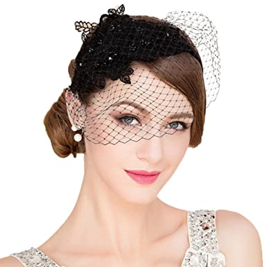 2010e1a87dd2a Vic Gray Fascinators Hat for Women