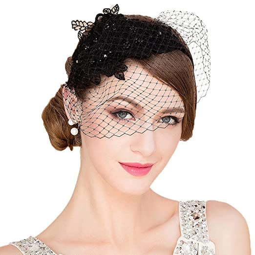 Image Unavailable. Image not available for. Color  Vic Gray Fascinators Hat  for Women f1bb64decef1