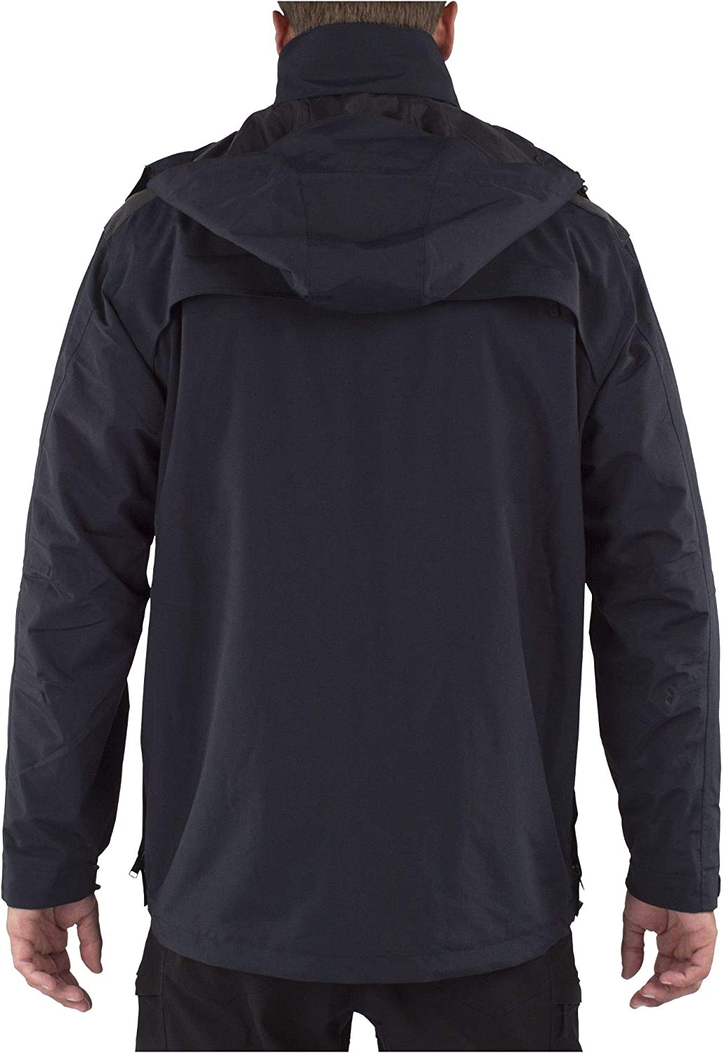 5.11 Tactical Mens First Responder Jacket Style 48197 Modular 5-in-1 All-Weather Protection