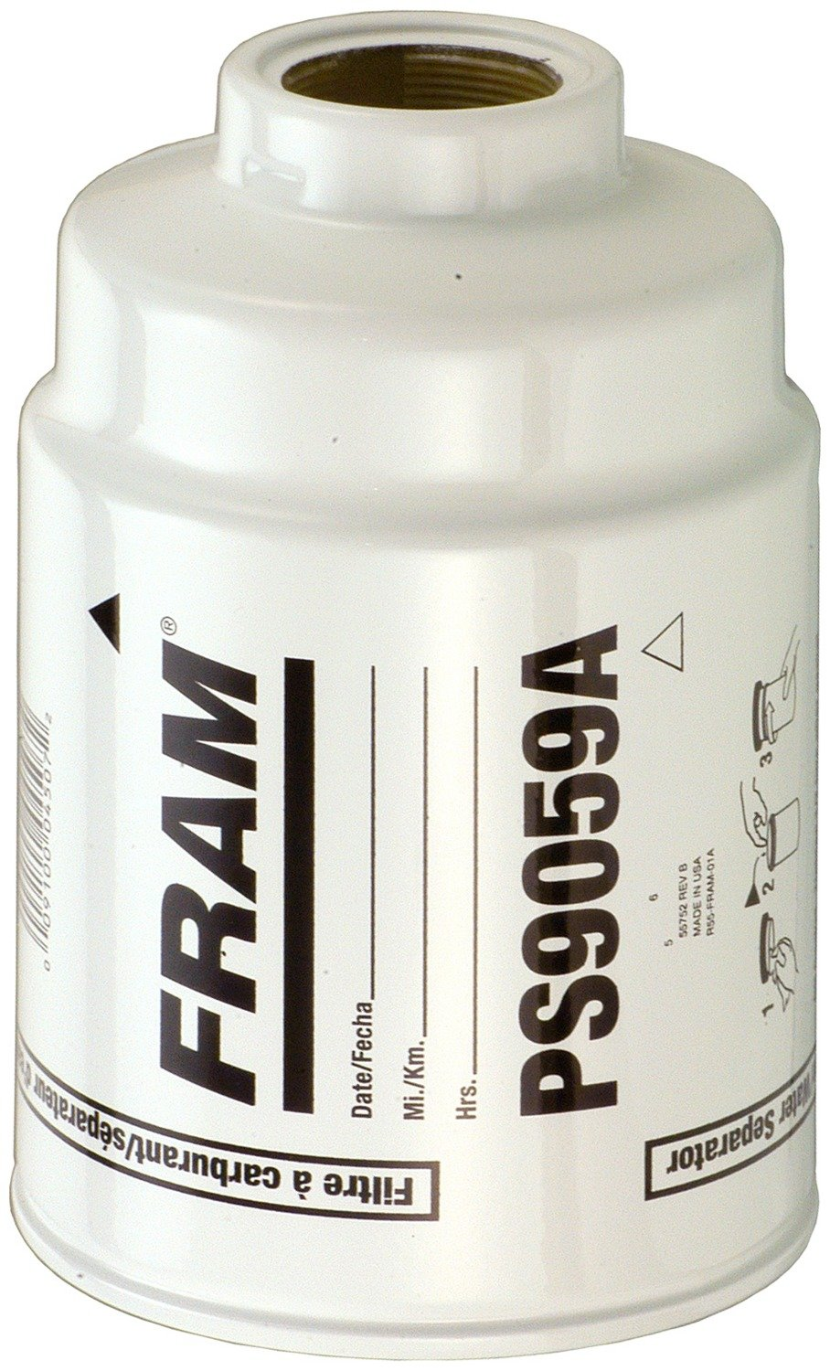 Fram PS9059A Heavy Duty Fuel Water Separator Filter nobrandname FRA:PS9059A