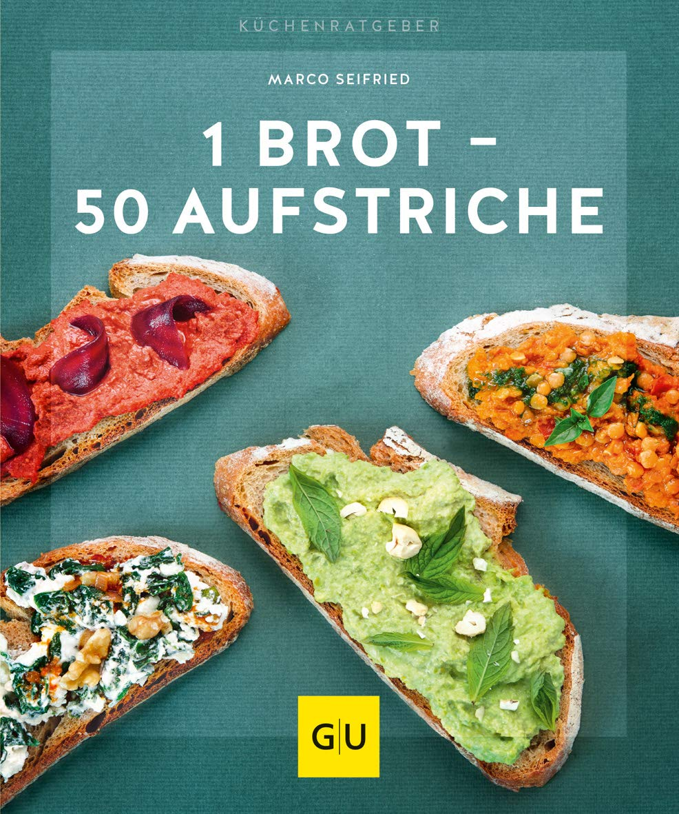 1 Brot   50 Aufstriche  GU KüchenRatgeber