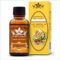 Dragon Honor NEW LYMPHATIC DRAINAGE GINGER ROOTS OIL HERBAL SKIN CARE ESSENCE [ 100% PURE Natural ] 30ml