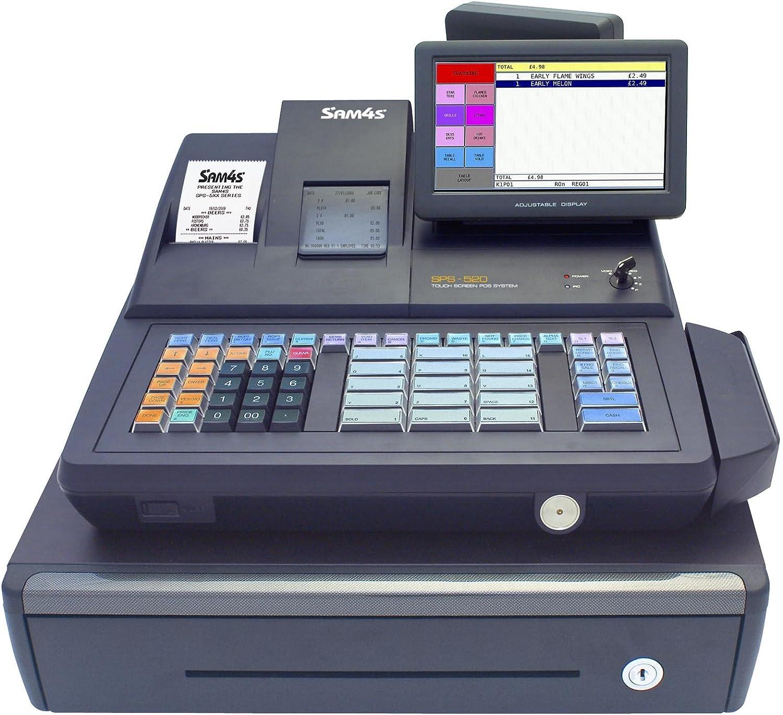 Sam4s SPS-520 2-in-1 caja registradora y pantalla táctil (versión ...