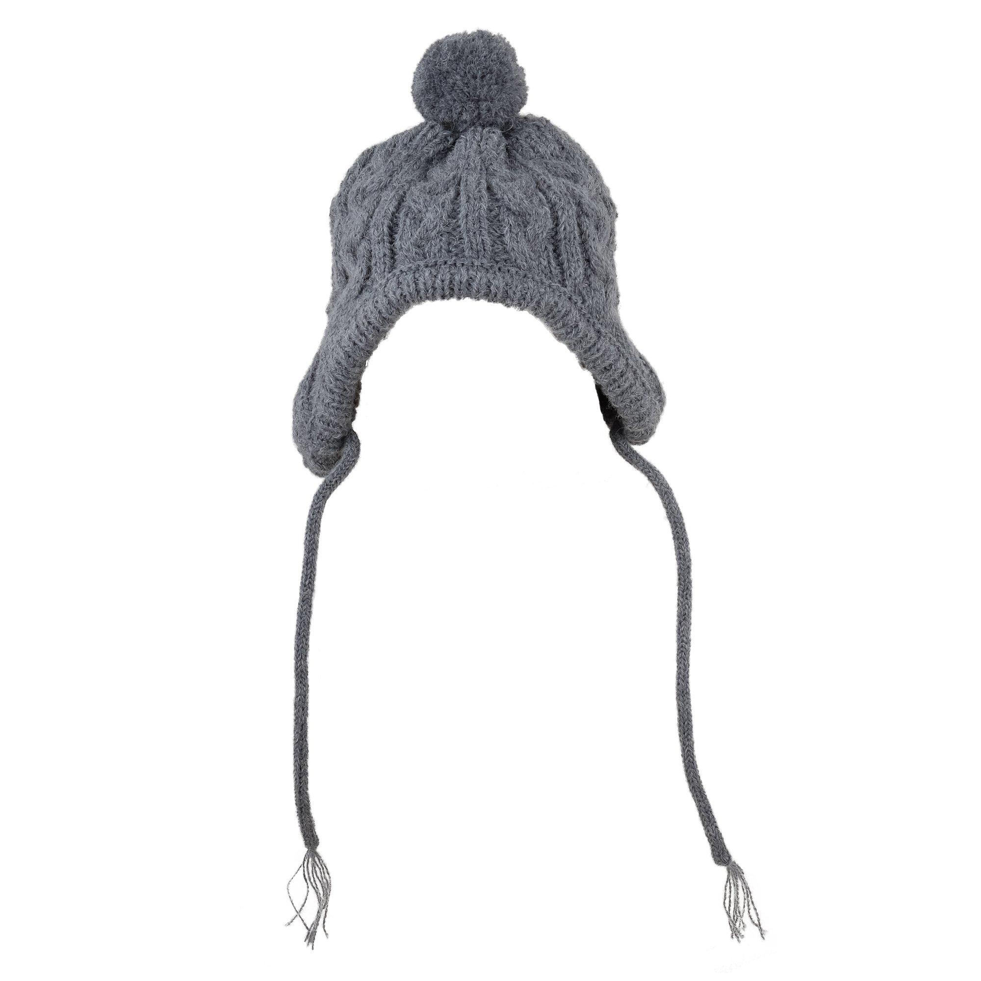 The Worthy Dog 5441 Toboggan Hat, Grey, M