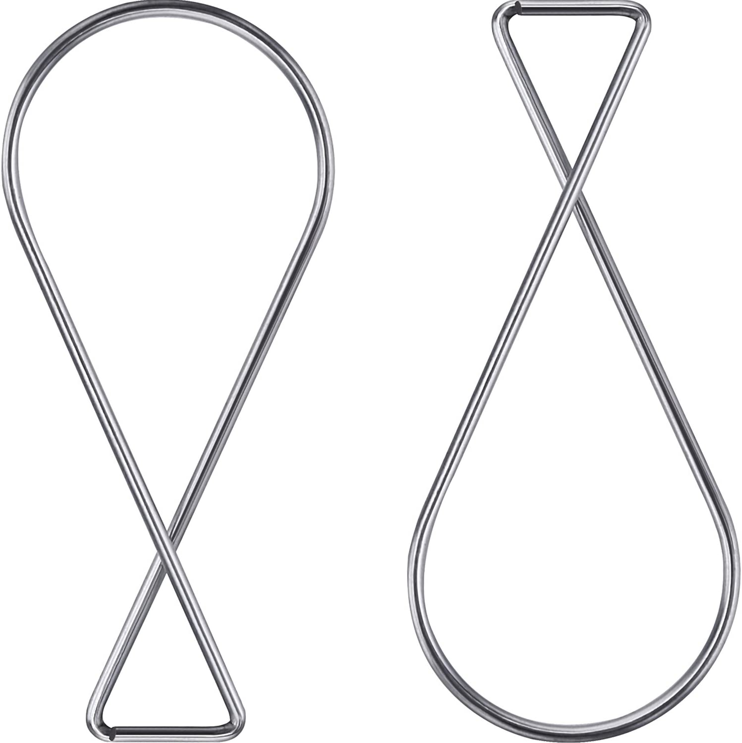 Ceiling Hook Clips Ceiling Tile Hooks T-bar Clips Drop Ceiling Clips for Office, Classroom, Home and Wedding Decoration, Hanging Sign from Suspended Tile/Grid/Drop Ceilings (100)