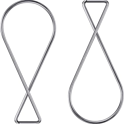 Outus 100 Pack Ceiling Hook Clips T Bar Squeeze Hangers Clips Drop Ceiling Clips For Office Classroom Home And Wedding Decoration Hanging Sign From