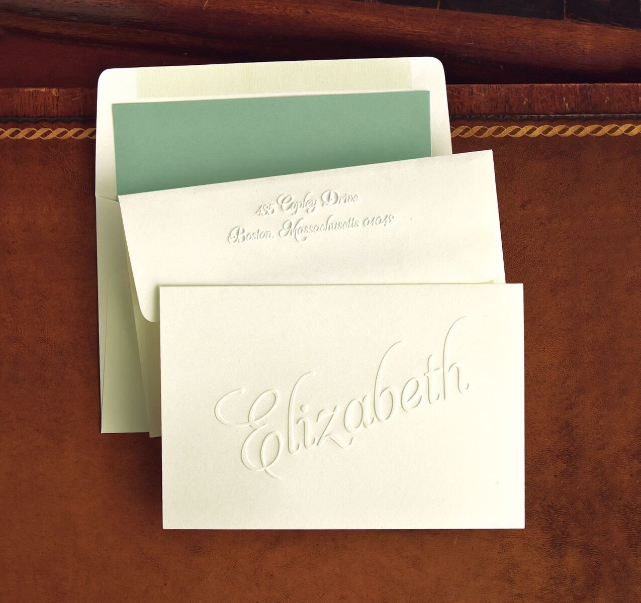Classic Embossed Fold Notes - 2793 by American Stationery
