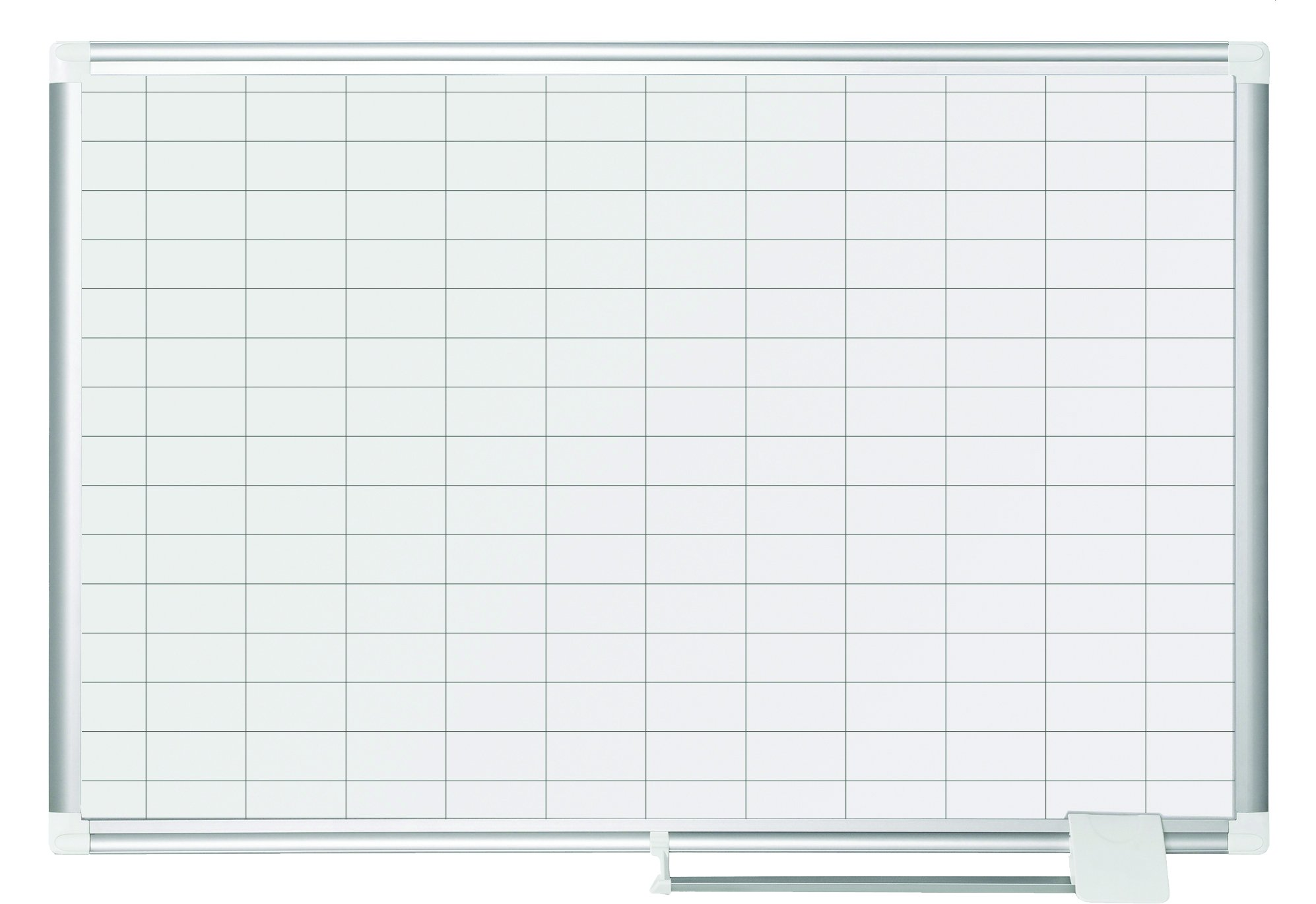 Bi-Office MA039 2830 A New Generation Check 25x50 mm Squares Magnetic Planner with Kit 90 x 60 cm