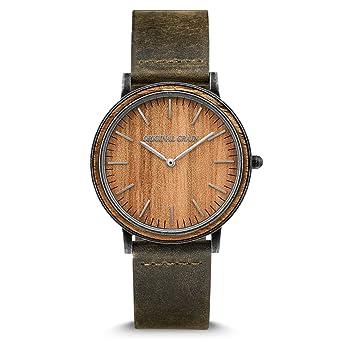 7750aef82e24 Amazon.com  New Original Grain Wood Wrist Watch