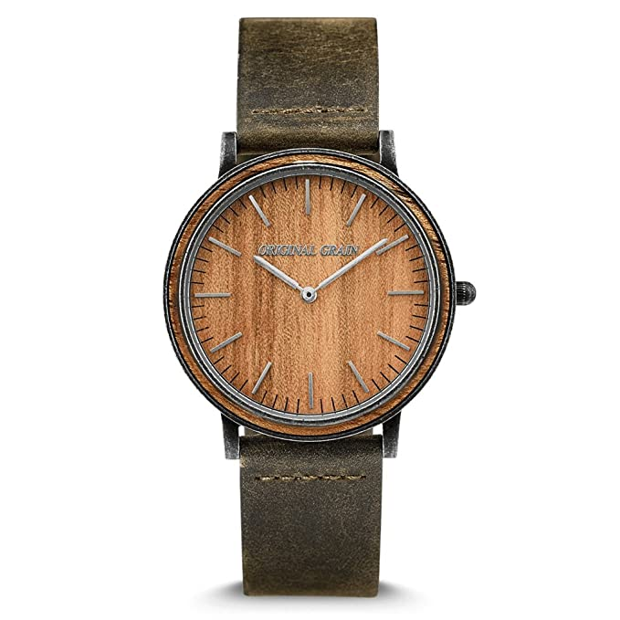 Orginal Grain Wood Wrist Watch