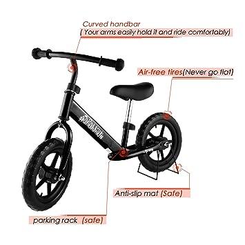 Vividy - Bicicleta de Equilibrio para niños de 3 a 6 años ...