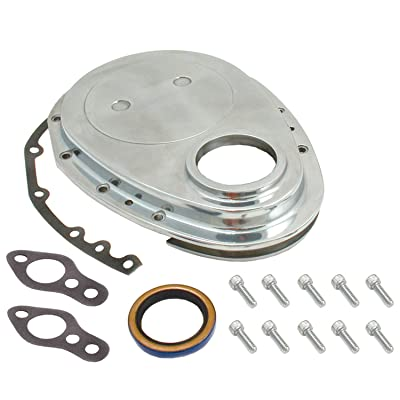 Spectre Performance 4935 Aluminum Timing Cover Kit for Small Block Chevy: Automotive
