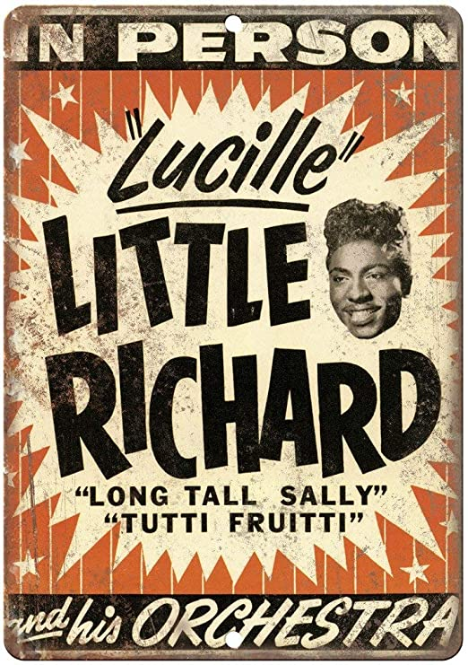 HALEY GAINES Little Richard in Concert Concert Flyer Placa ...