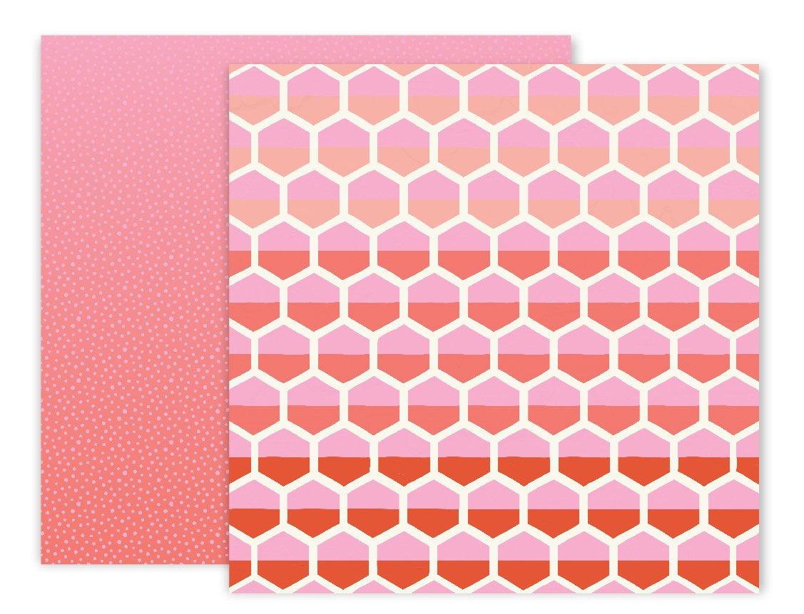 American Crafts Paige Evans Turn The Page 25枚パック 12 x 12インチ パターン紙 8枚 B074MSMPGS