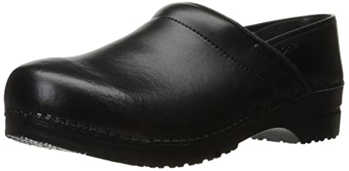 LargeurTaille 0 Sanita ProfPu Black Zoccoli 47 Leather QsrhCtd