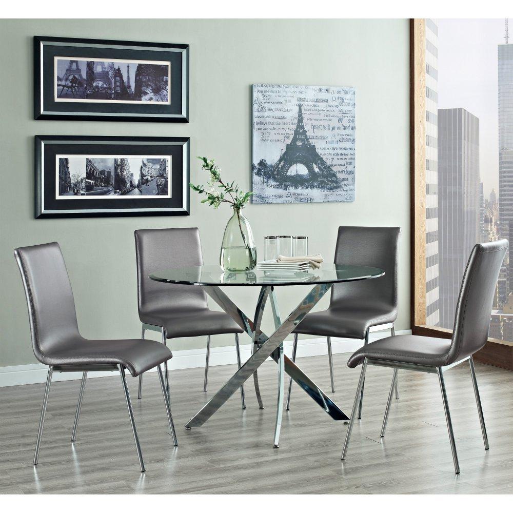 excellent silver dining room sets contemporary 3d house designs amazon com powell 205 413m1 5pc putnam dining set413m1 set cool