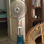 Armour/&Danforth TMX1723 Ventilatore a Piantana con Nebulizzatore con Telecomando