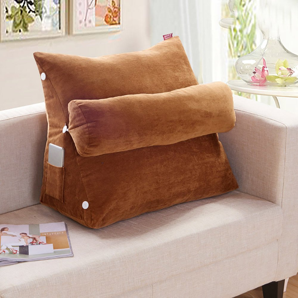 Sconto del 70% BZ Cuscino Cuscino Cuscino Triangolo Protegge Il Cuscino della Vita del Cuscino del Cuscino del sofà dell'ufficio (colore   3 , Dimensioni   60  48  30cm)  migliore marca