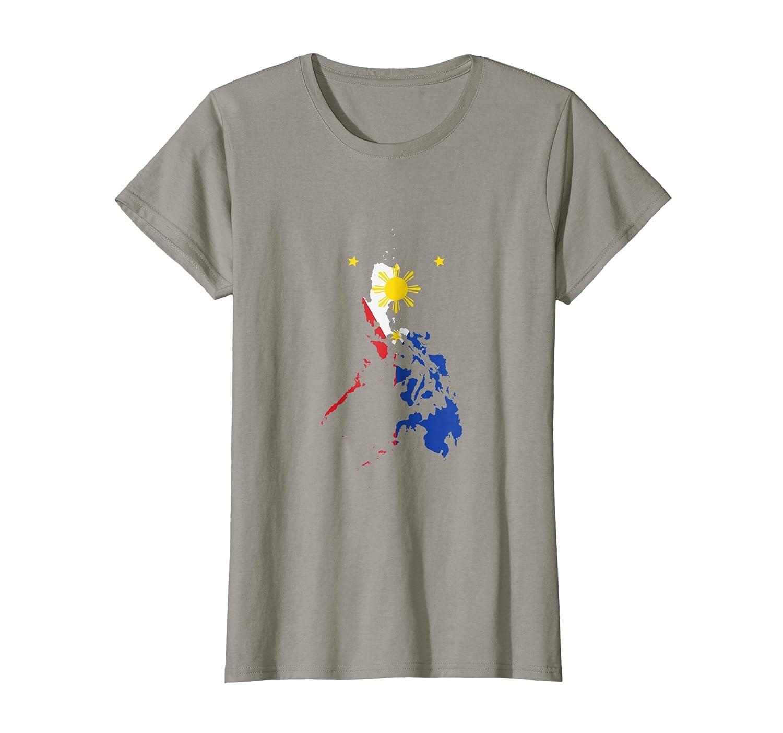 Philippines Map Flag T-Shirt Filipino Tee Filipino Pride Pinoy Shirts