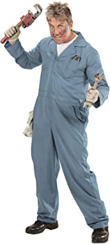WIDMANN 07361 Adulto Disfraz mecánicos ? fontanero ? Soldador, S