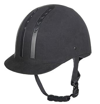 HKM – Casco de equitación – de Aquisgrán, negro