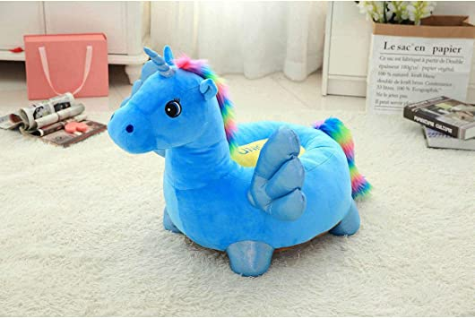 Kids Sofa Einhorn Puppe Hocker Cute Plüschtier Lazy Cartoon