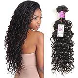 UNice Brazilian Water Wave 8A Grade 100% Virgin Human Hair 3 Bundles Natural Color