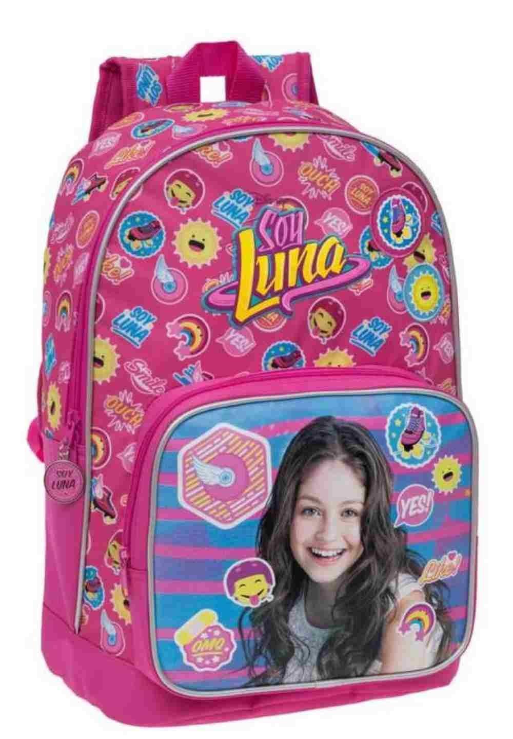 Disney 33923A Yo Soy Luna Mochila Escolar, 16.93 litros, Color Rosa: Amazon.es: Equipaje