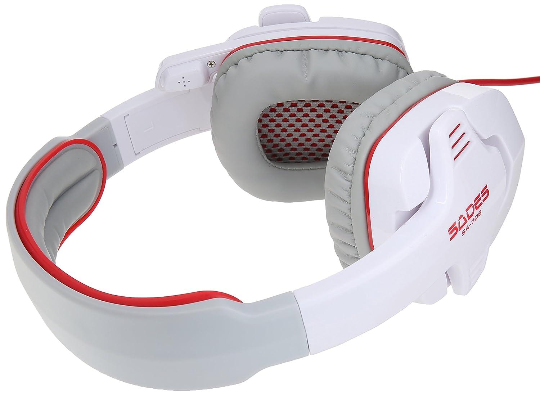 Daftar Harga Sades Gpower Sa 708 Headset Gaming G Power Termurah Locust 704 Stereo With Microphone White Pc Video Games