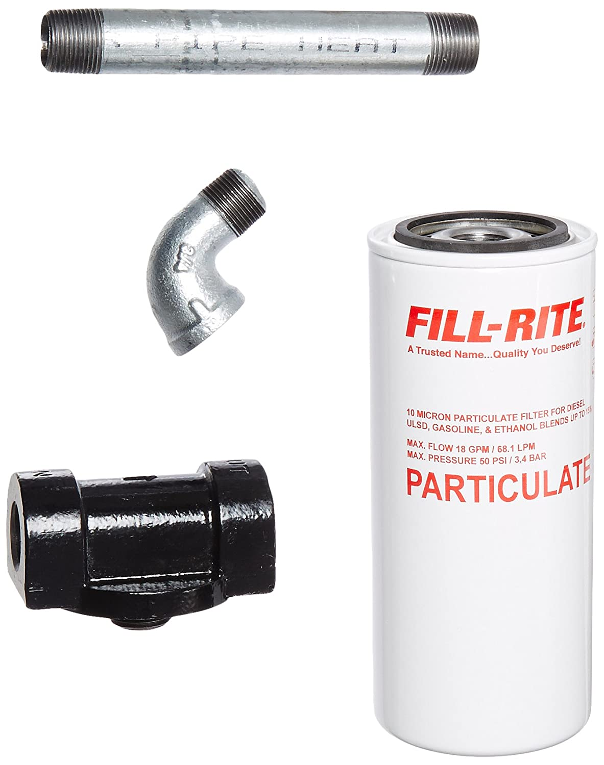 Fill-Rite, 1200KTF7018, Housing, Fuel Filter
