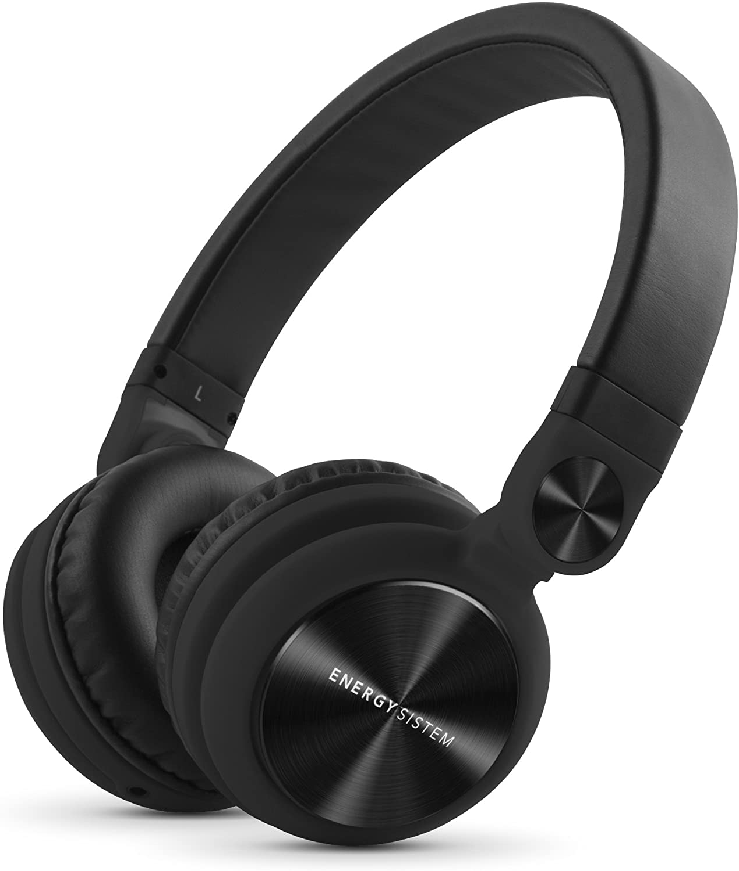 Energy Sistem Headphones DJ2 (Rotation 180º, Câble Amovible, Microphone, Pliable)- Noir