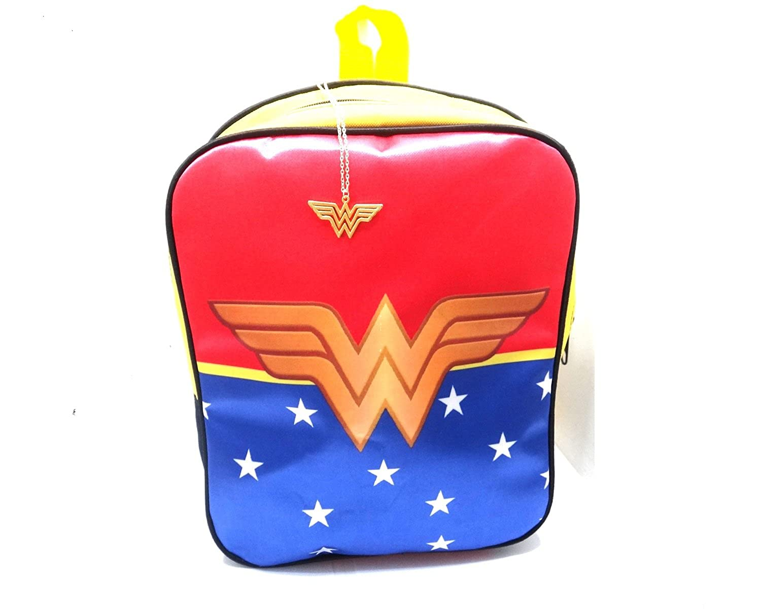 GSC Moda Wonder Woman MiniバックパックデイパックバッグLadys Girls Set Includes neacklaces B07DM62T7W