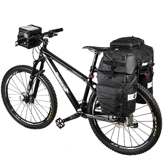Amazon.com: Rhinowalk Bike Bag Bike Pannier Bag Set,(for ...