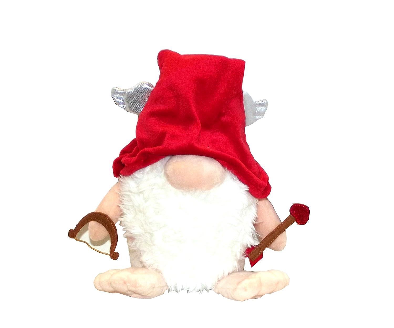 Amazon.com: Aurora The Gnomlins Valentine's Day Garden Gnome Plush ...