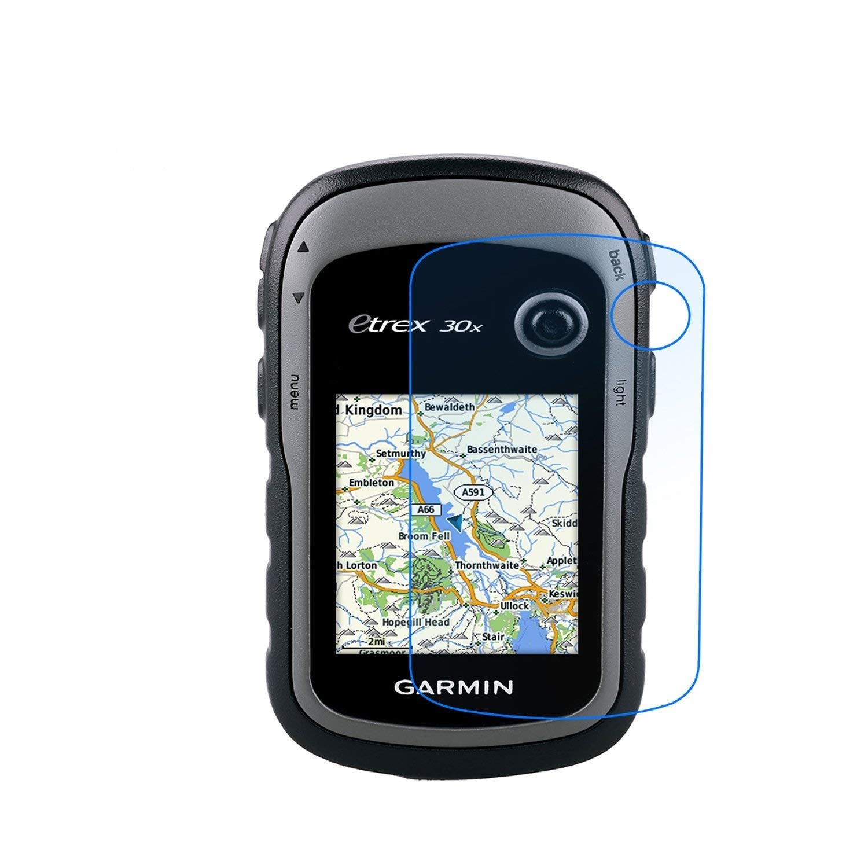 30J LFOTPP 9H Kratzfest Anti-Fingerprint Displayschutzfolie GPS Navi Folie Transparent Panzerglas Schutzfolie f/ür Garmin eTrex 10 20x 30x 10J //20J 4 St/ück