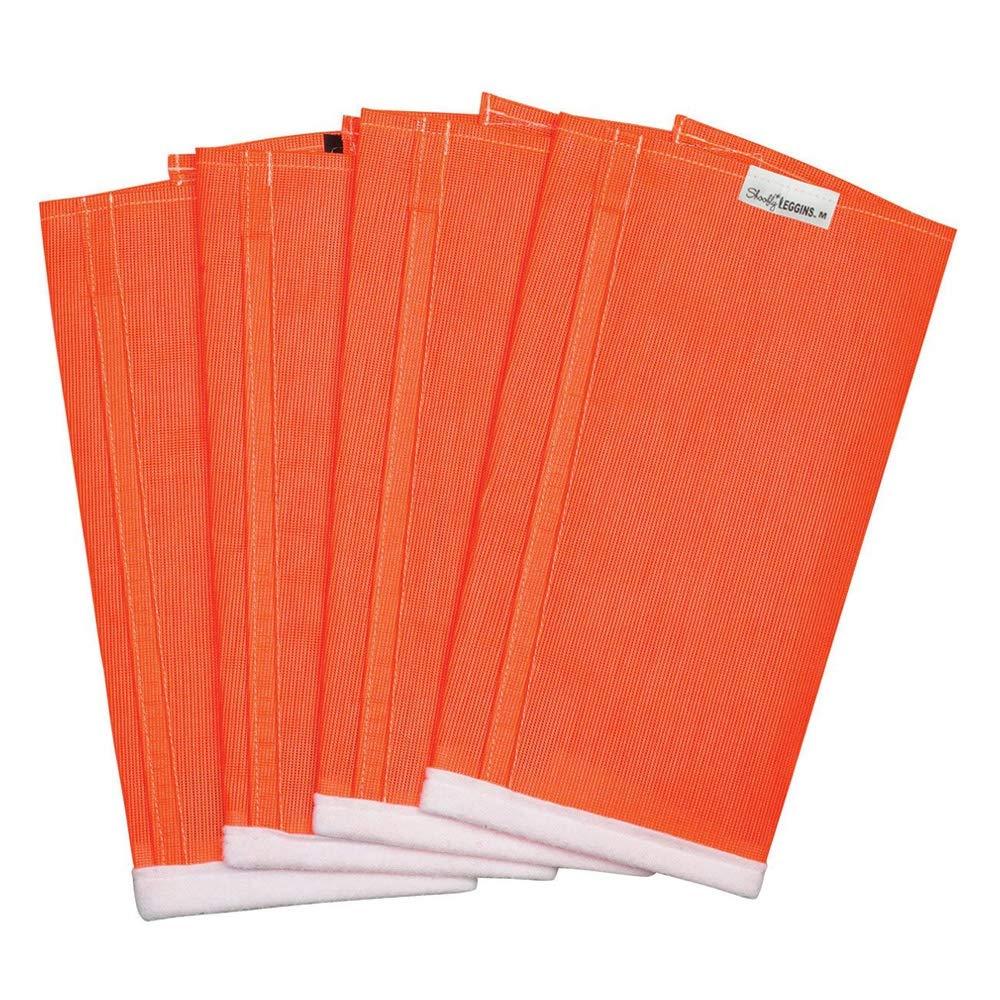 Shoo Fly Leggins for Horses - Set of 4 Mini Orange