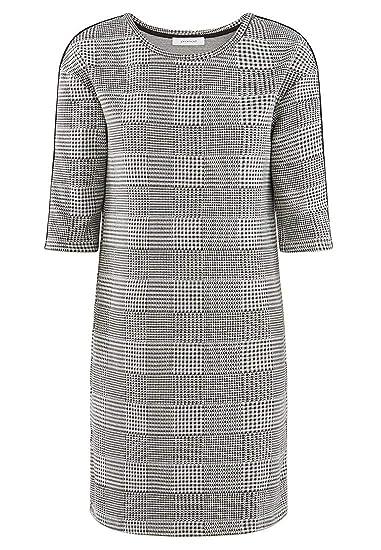 Promod Robe Prince De Galles Femme Carreaux Noirs Xl Amazon Fr