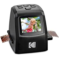 KODAK Mini Digital Film & Slide Scanner – Converts 35mm, 126, 110, Super 8 & 8mm Film Negatives & Slides to 22 Megapixel JPEG Images – Includes - 2.4 LCD Screen – Easy Load Film Adapters