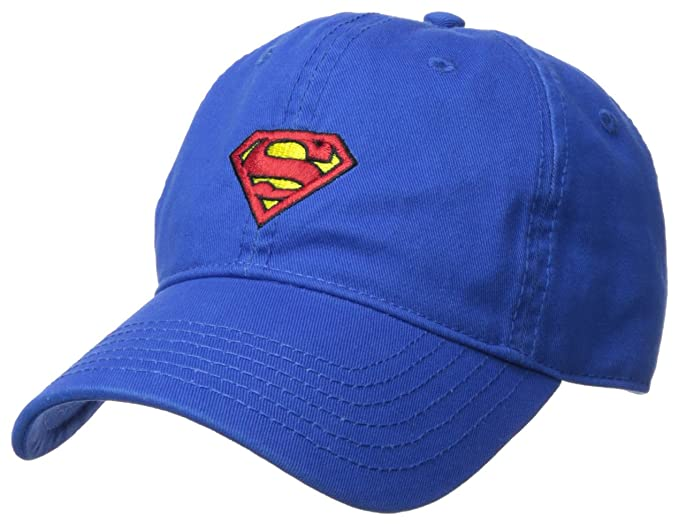 Amazon.com  Superman Men s Baseball Cap 2f9607cfdc9