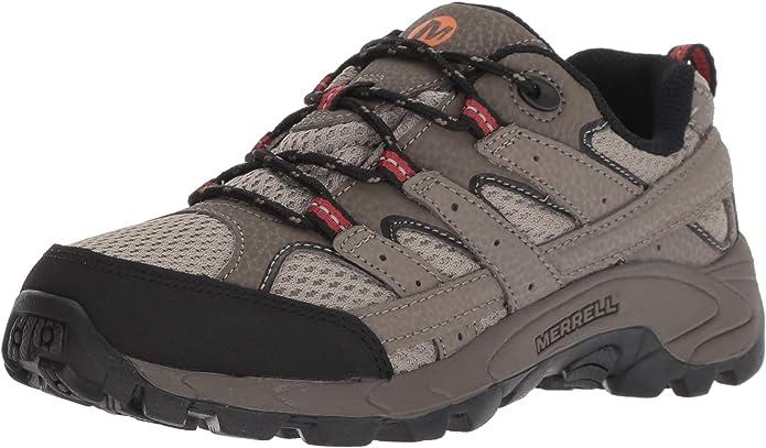 Merrell Moab 2 Low Lace, Zapatillas de Senderismo Unisex Niños