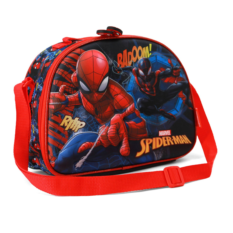 Spiderman Smash-3D Frühstückstasche Cartella, Blu Karactermania 37100