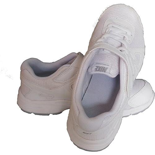 Nike Revolution 2 Velcro Shoe - White