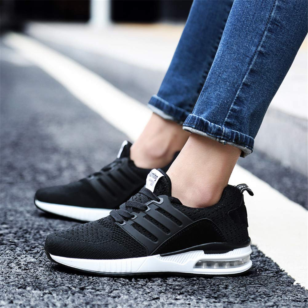 Wonesion Women Lightweight Mesh Tennis Walking Sport Shoes Breathable Casual Running Sneakers