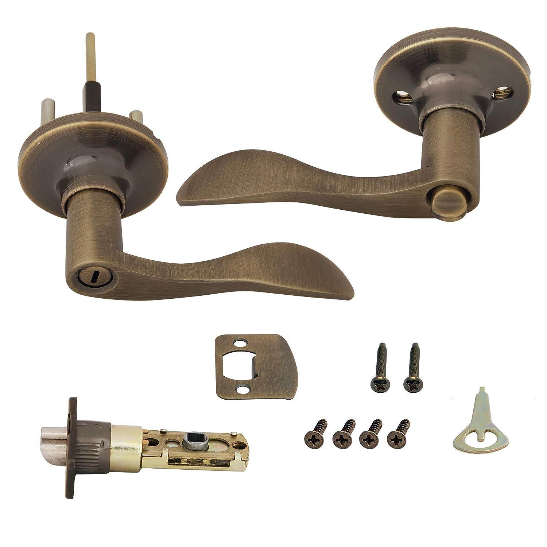 Honeywell Safes /& Door Locks 8106402 Honeywell Locking Door Lever Oil Rubbed Bronze