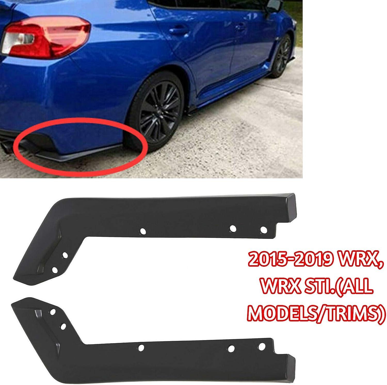 amazon com ecotric rear spat bumper valance lip spoiler polyurethane compatible with 2015 2019 subaru wrx sti automotive ecotric rear spat bumper valance lip spoiler polyurethane compatible with 2015 2019 subaru wrx sti