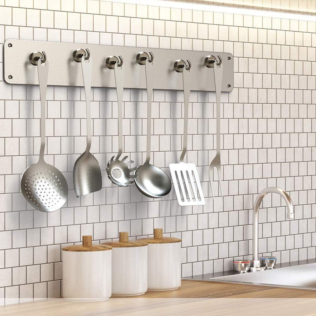 Gancho magn/ético ganchos de im/án de neodimio fuertes adecuado para el hogar el garaje la cocina la oficina el lugar de trabajo 2 piezas