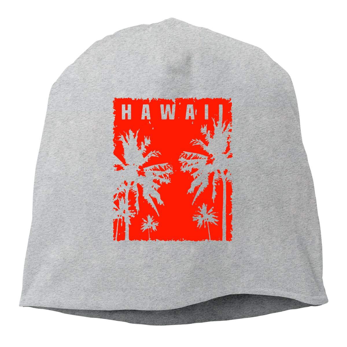 Hawaii Vintage Unisex Knitted Hat Beanie Hat Warm Hats Skull Cap