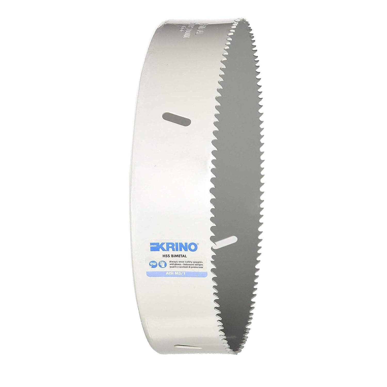 105/mm Krino 2106010500/Sierra de corona HSS bimet/álica a dentado variable Gris