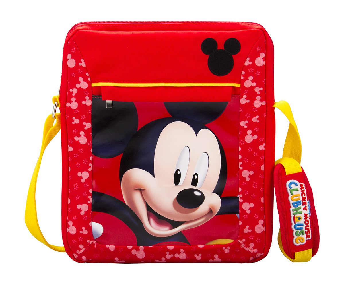 Mickey Mouse Clubhouse Universal Tablet Tote Messenger Bag ( DTT-22MK.FX)